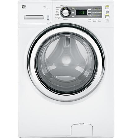 GE GFWS1500DWW front load washer vs. electrolux laundry