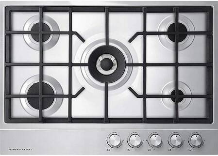 Fisher and Paykel gas cooktop