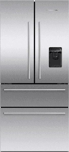Fisher-&-Paykel-Counter-Depth-French-Door-Refrigerator-RF172GDUX1
