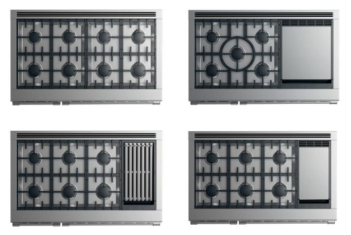 Fisher-&-Paykel-pro-ranges-all-gas-options