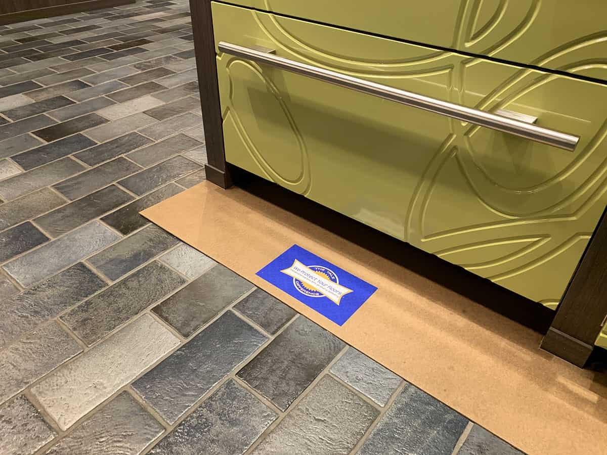 Floor Protection With Yale Appliance (1)