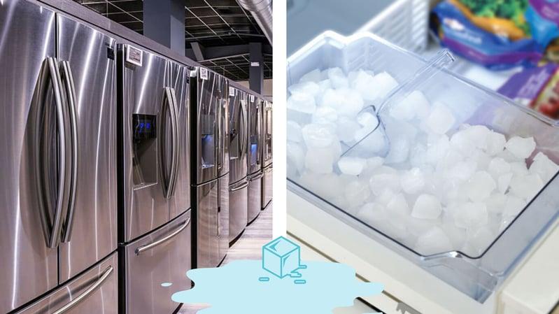 French Door Refrigerators & Ice Makers