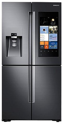 kitchenaid vs samsung black stainless steel appliances. Black Bedroom Furniture Sets. Home Design Ideas