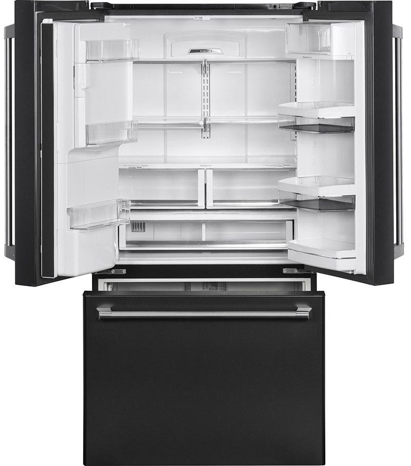 GE CYE22UELDS Refrigerator Interior-1