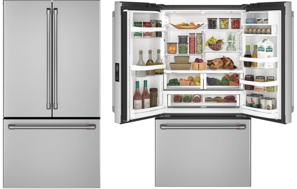 GE Cafe Counter Depth Refrigerator CWE23SP2MS1