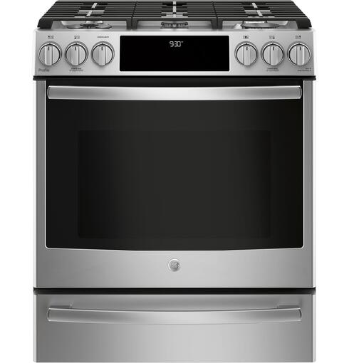 The Ge Profile Range Offers A Ton Of With 21 000 And 18 Btu Burner Thats More Than Many Pro Ranges You Also Have Along Convection Wi Fi So