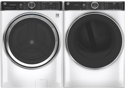 GE Smart Front Load Laundry Pair With Steam