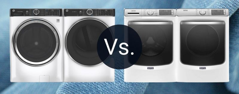 GE Vs. Maytag Front Load Laundry (1)