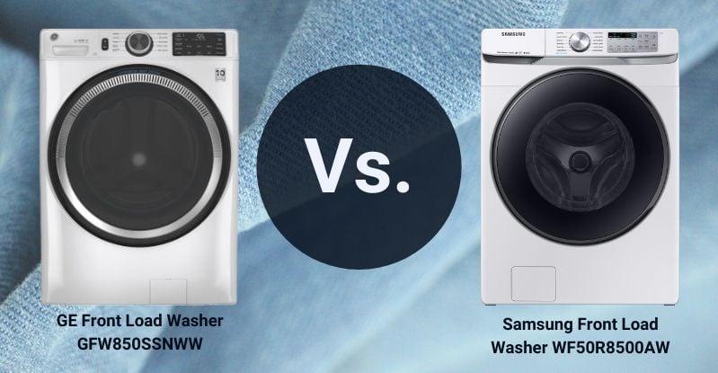 GE Vs. Samsung  Front Load Washers - 1