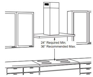 GE-Designer-Wall-Mount-Hood-Clearance-Diagram