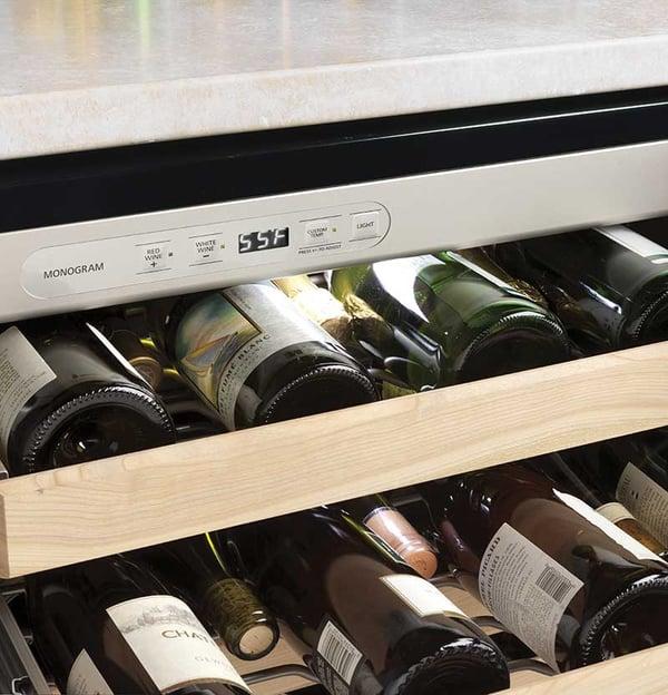 GE-Monogram-Wine-Cooler-ZDWR240HBS-Controls