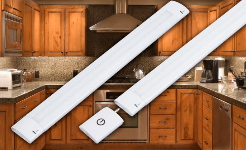 GM-Lighting-LARC6-Dimmable-LED-Linear-Light-Bar & Best LED Under Cabinet Lighting 2018 (Reviews / Ratings)