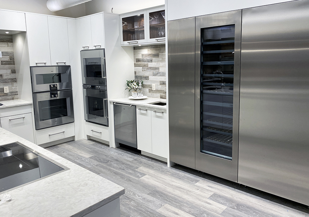 Gaggenau kitchen at yale appliance in hanover
