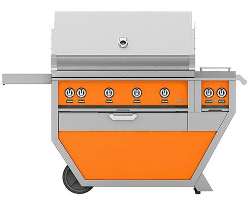 Hestan-BBQ-Grill-in-Orange-GMBR42CX2-LP-OR