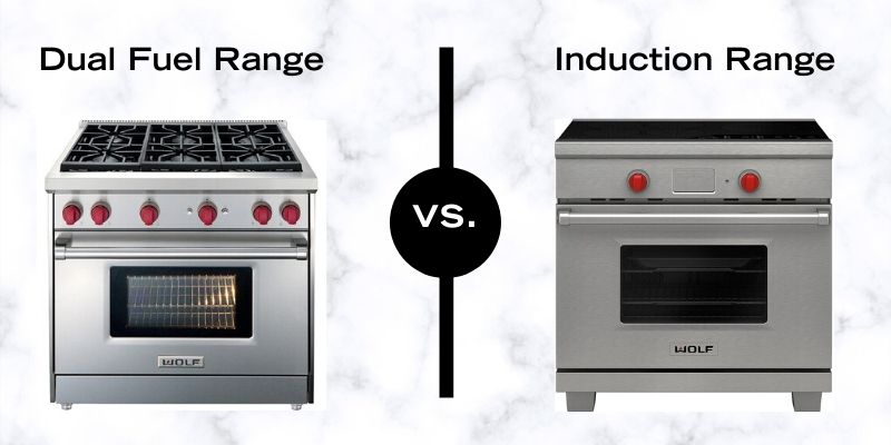 Induction Vs. Dual Fuel Pro Ranges