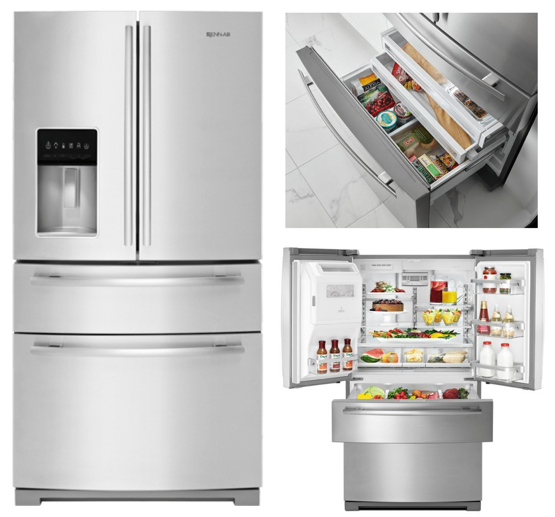 ... Top Rated Counter Depth French Door Refrigerators Best Double Drawer French  Door Refrigerators Reviews Ratings ...