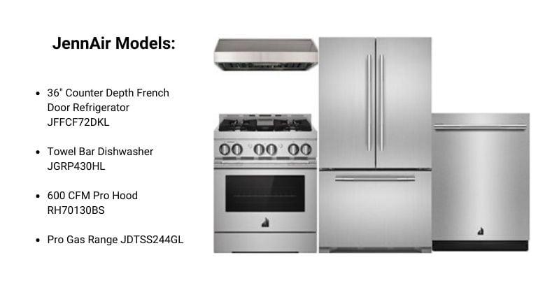 JennAir Pro Appliance Package