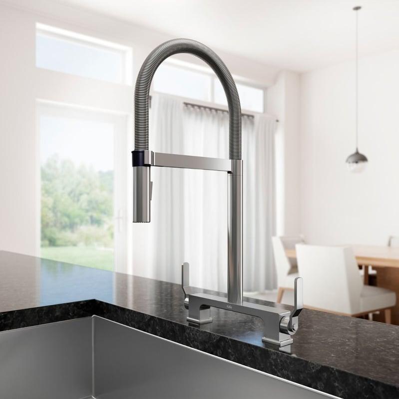 Kaila Sky Bridge Kitchen Contemporary Faucet