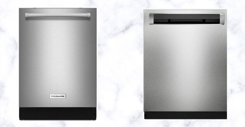KitchenAid 600 Series Dishwasher Handle Styles