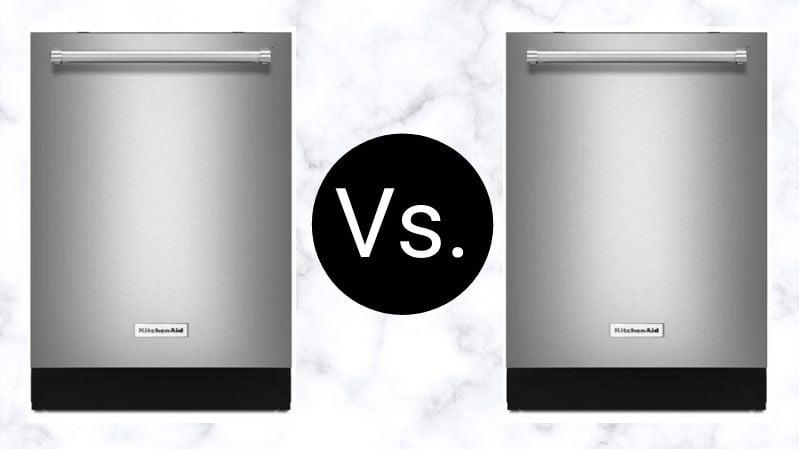 KitchenAid Dishwasher Differences