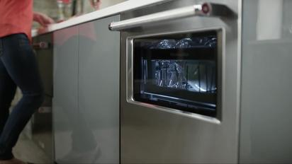 KitchenAid Dishwasher With Window