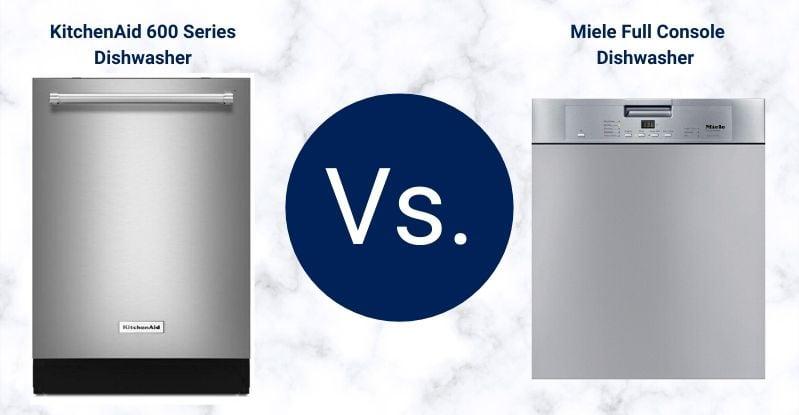 KitchenAid Vs. Miele Dishwashers-1