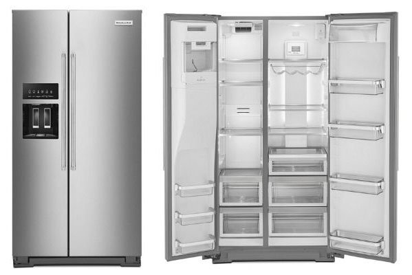 KitchenAid-Side-By-Side-Counter-Depth-Refrigerator-KRSC703HPS