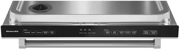 KitchenAid-dishwasher-controls