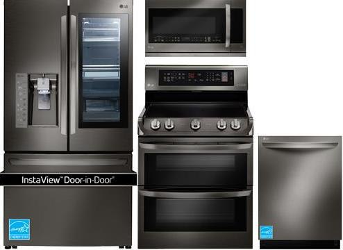 Lg Black Stainless Kitchen Package Electric 6 190