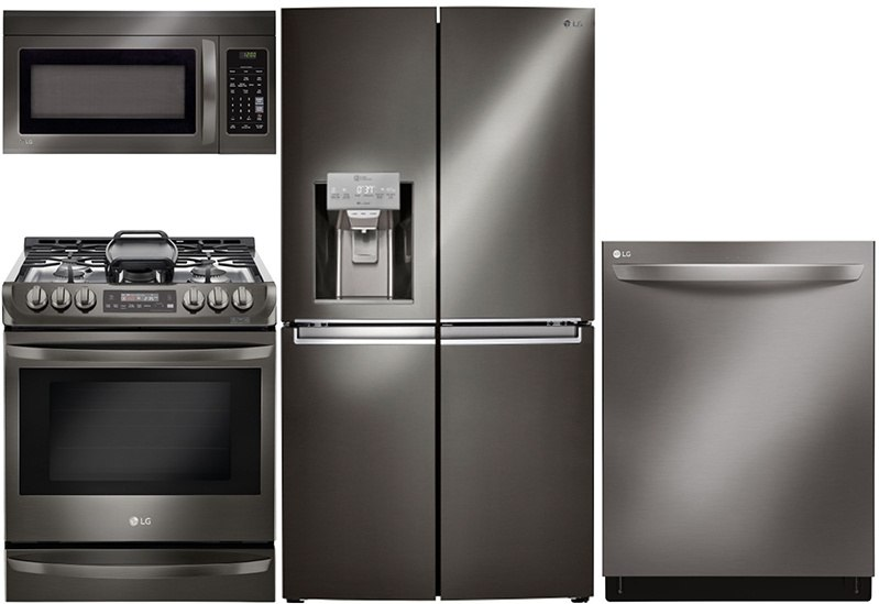 Samsung Vs Lg Black Stainless Steel Kitchen Packages