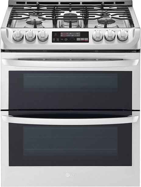 LG LTG4715ST Slide-In Convection Gas Range