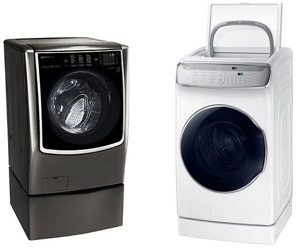 LG-and-samsung-largest-front-load-washers