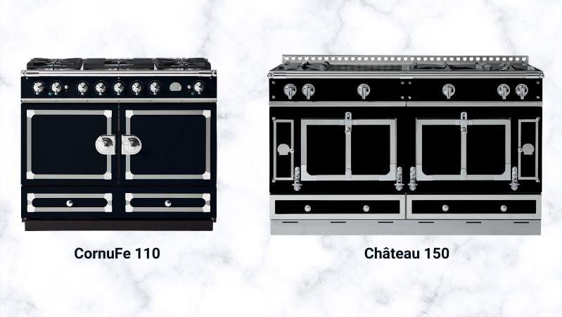 La Cornue CornuFé vs Chateau Ranges (1)