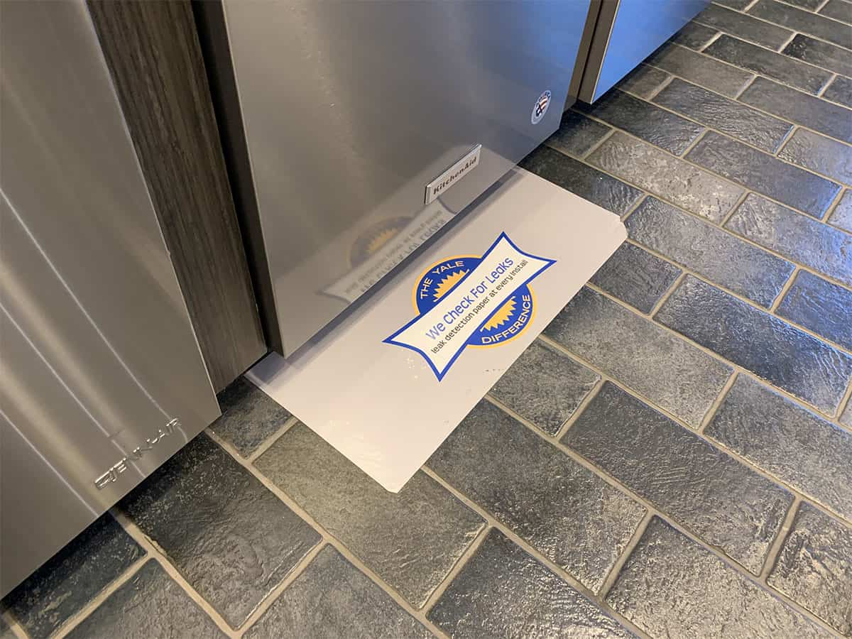 Leak Protection Pads With Yale Appliance (1)