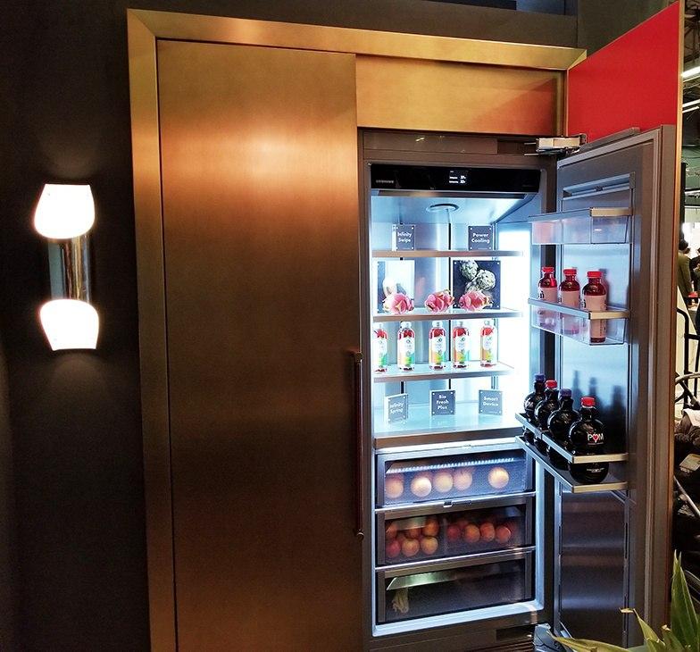 Liebherr Column Refrigeration 2018 Architectural Digest Design Show