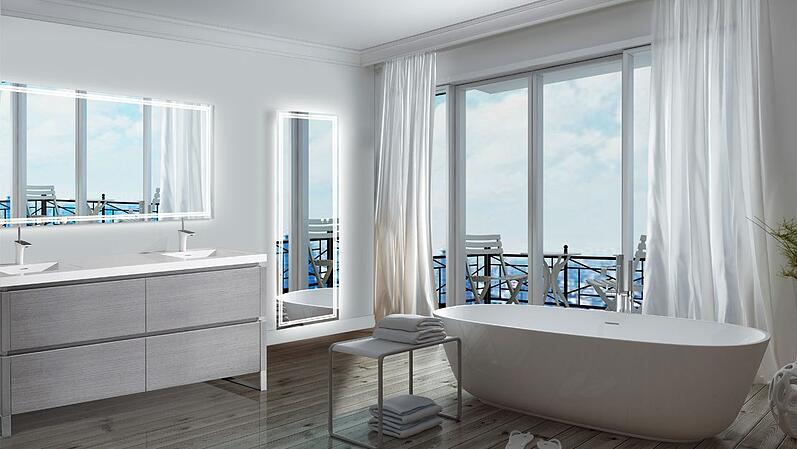 Best Lighted Bathroom Mirror Reviews Ratings Prices