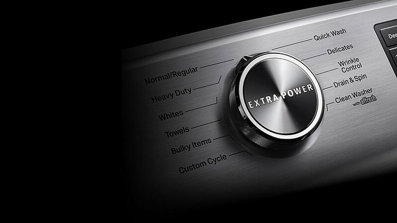 Maytag-Front-Load-Washer-Controls