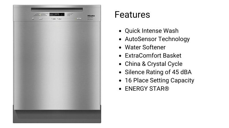Miele Dishwasher G6625SCU
