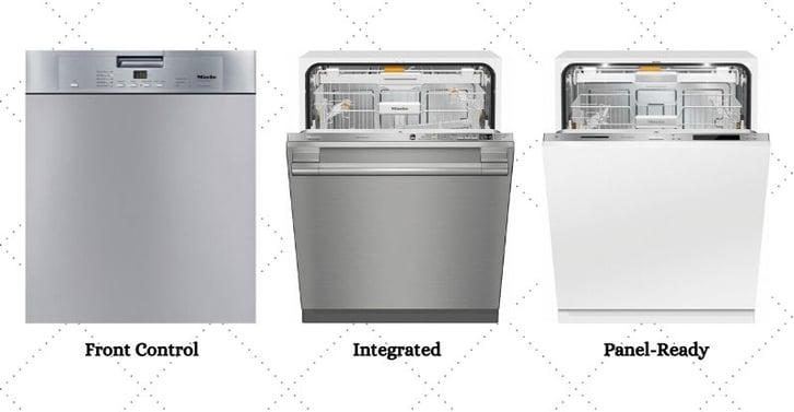 Miele Dishwasher Styles