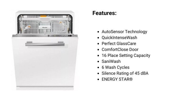 Miele Panel-Ready Dishwasher
