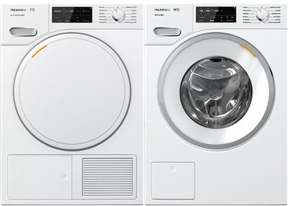 Miele compact laundry pair