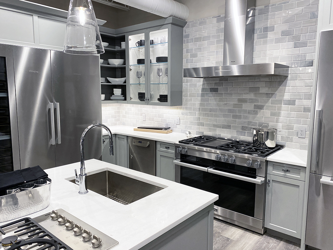Miele kitchen at yale appliance in hanover