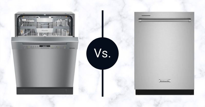 Miele-Vs-KitchenAid-Dishwashers