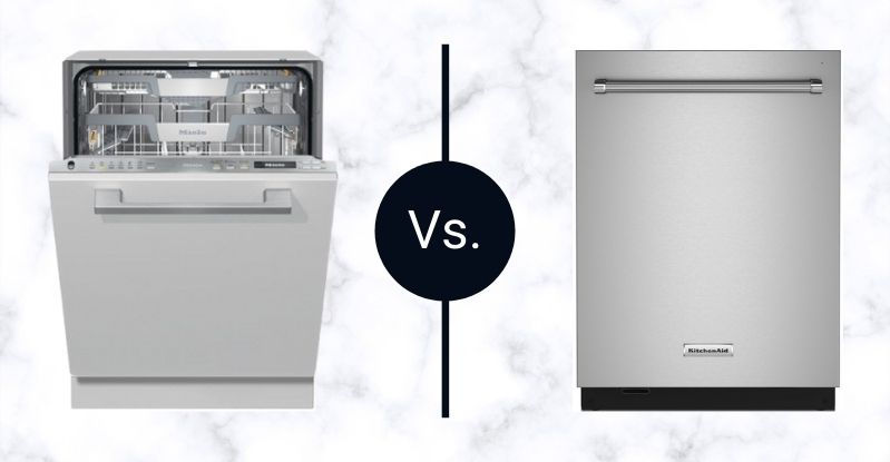 Miele-vs-kitchenaid-600-series-dishwasher