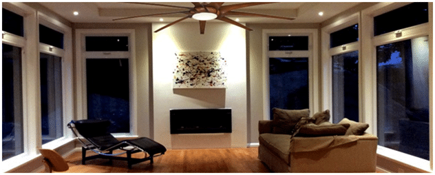 Minka Aire F899L Ceiling Fan in Living Room.png