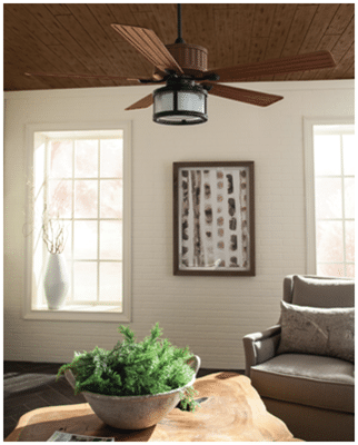 Monte Carlo Tilbury Contemporary Ceiling Fan