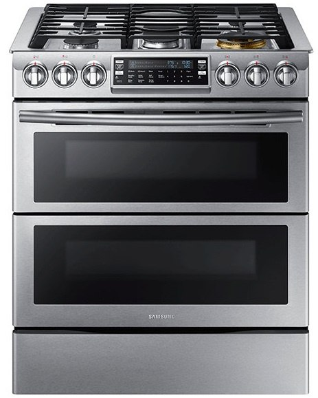 Samsung NX58K9850SS Convection Slide-In Gas Range