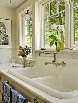 Overmount sink - Courtesy of Houzz