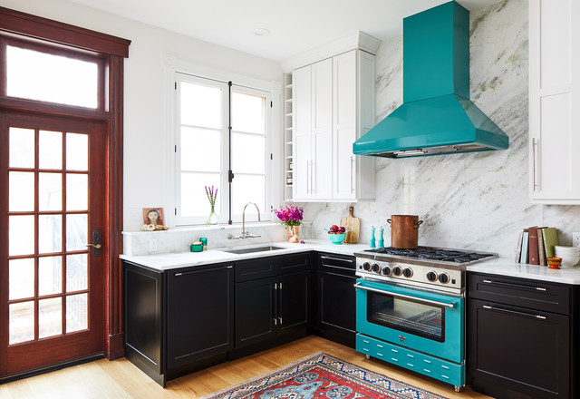 Photo Courtesty of Houzz-custom-color-appliances