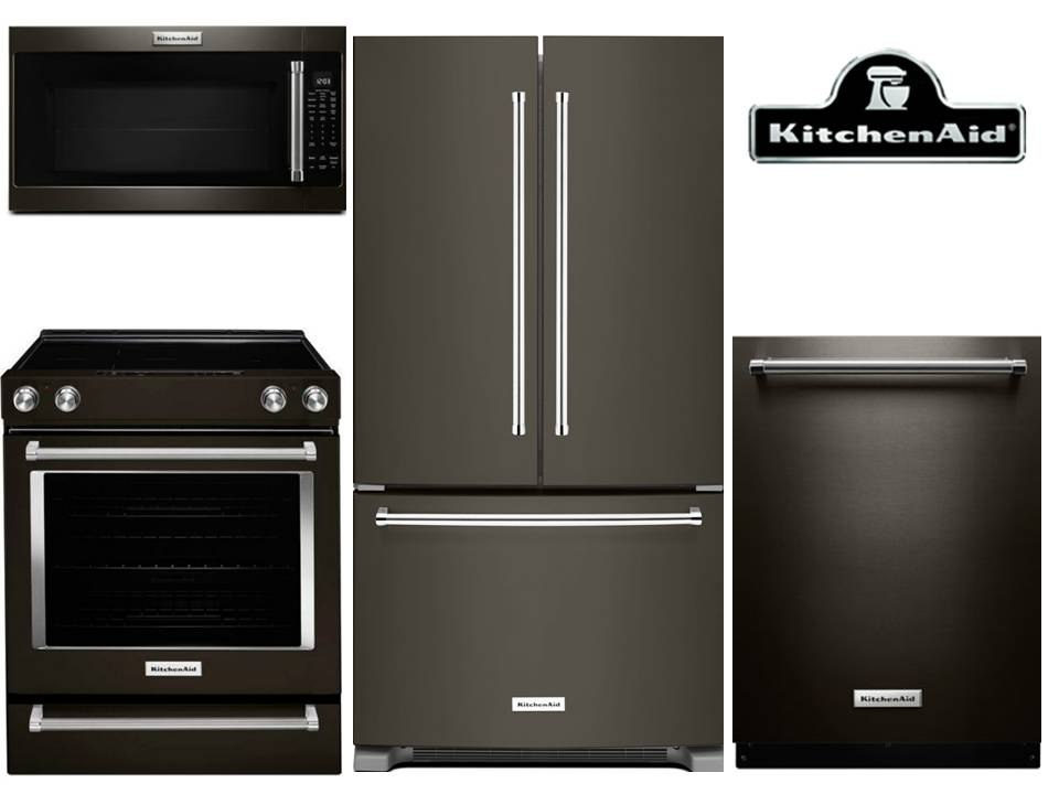KitchenAid Black Stainless Kitchen Package U2013 Electric $5,254